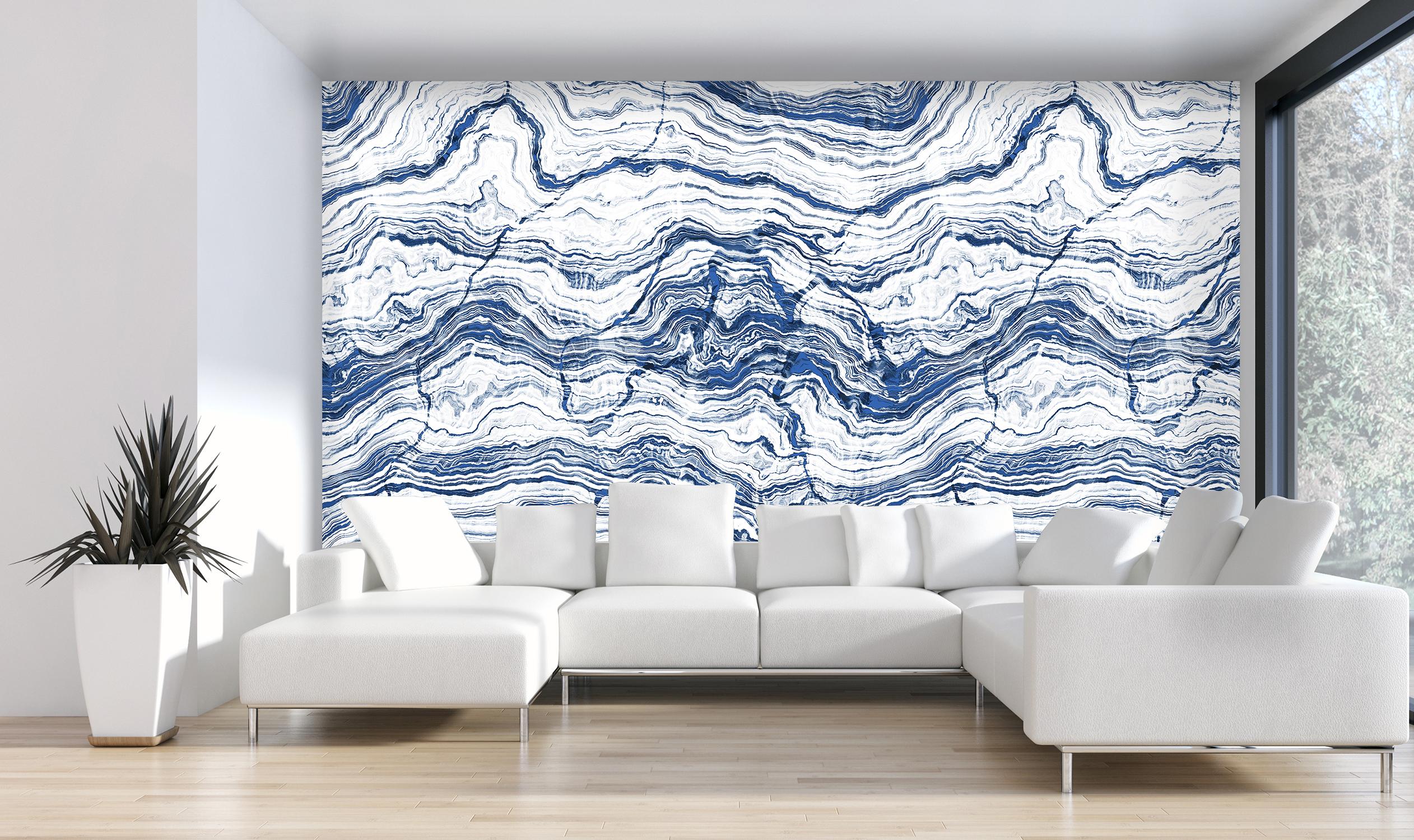 Erdstruktur-Schichtgestein-weiss-blau