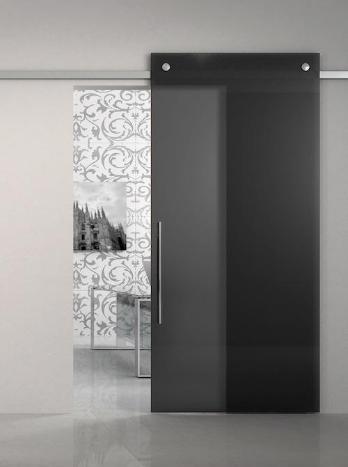 Glas-Tür