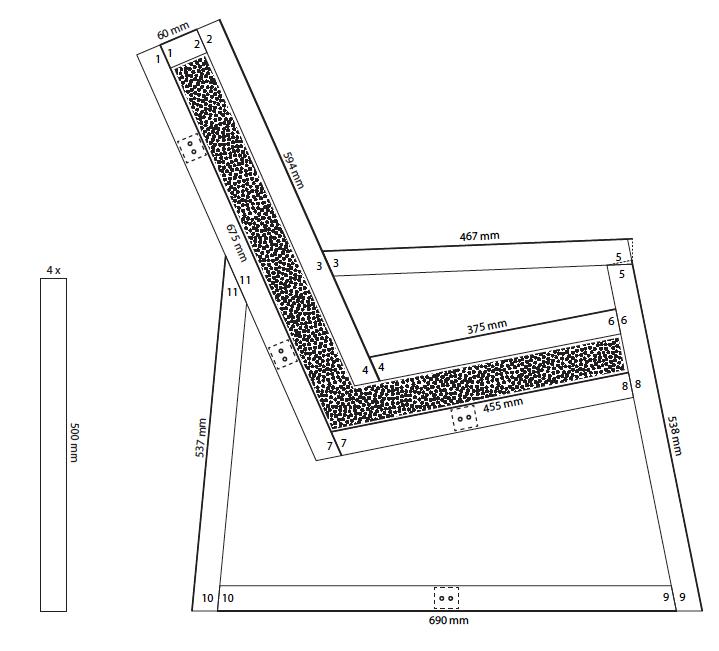 edles design und voller natur diesen stuhl k nnen sie selbermachen trendblog. Black Bedroom Furniture Sets. Home Design Ideas