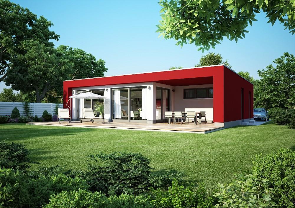 bungalow mit flachdach wohnen mit mehrwert trendblog. Black Bedroom Furniture Sets. Home Design Ideas