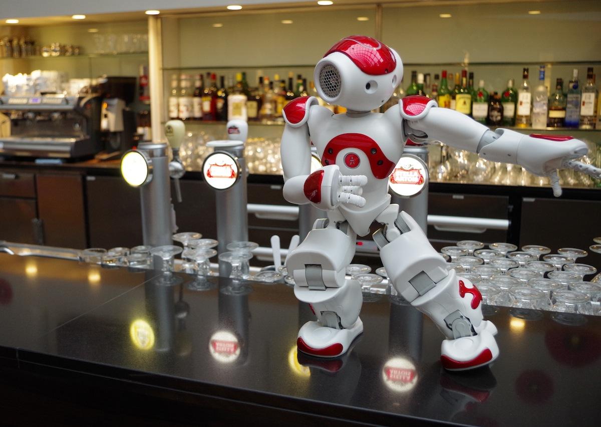 Roboter NAO by Aldebaran Robotics
