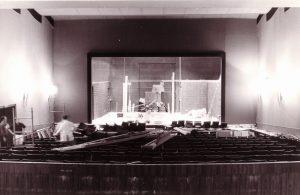 Theaterumbau in den 80er Jahren. Foto Cornel Wachter