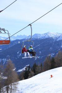 Ski fahren am Rosskopf