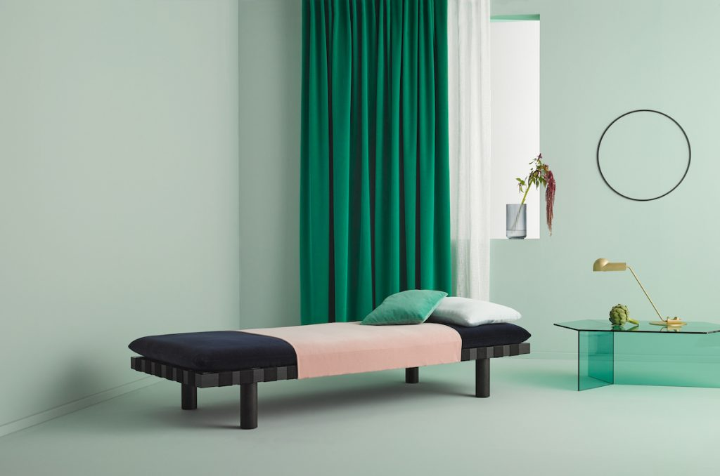 Raumgestaltung in Grün