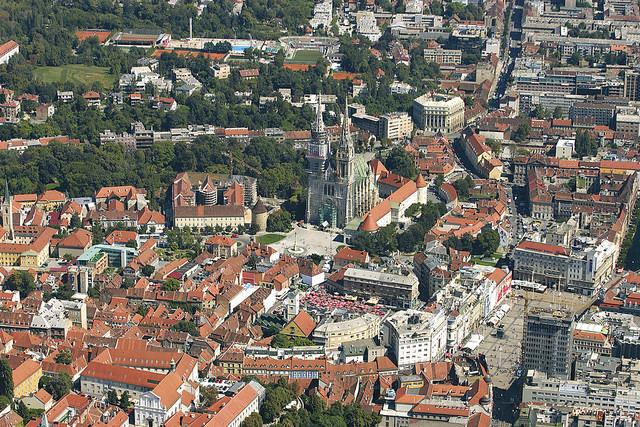Altstadt von Zagreb