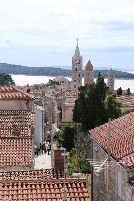 Altstadt Insel Rab