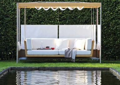 aktuelle trends im garten schwingen abh ngen grillen. Black Bedroom Furniture Sets. Home Design Ideas