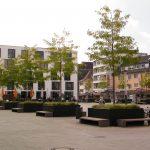 Mitten in Köln Rodenkirchen: der Maternusplatz