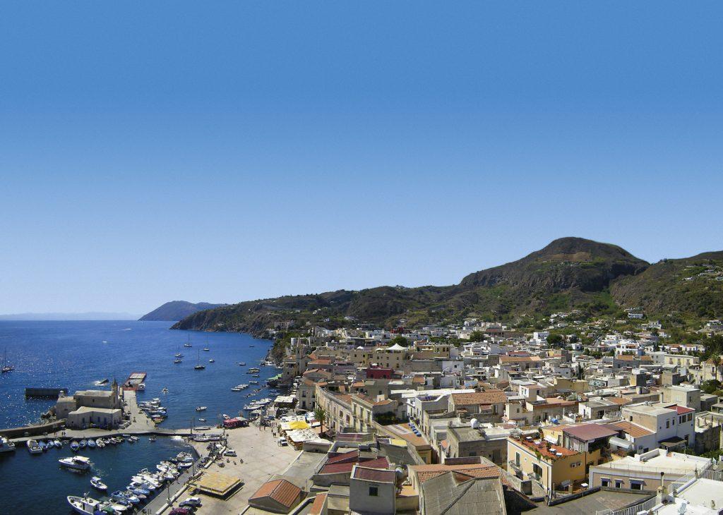 Liparen Italiens Inseln