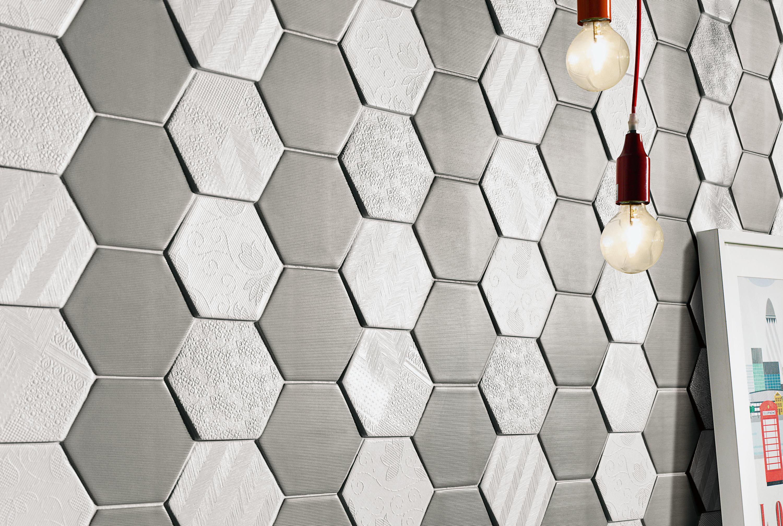 Fliesen in 3d trendblog - Hexagon fliesen ...