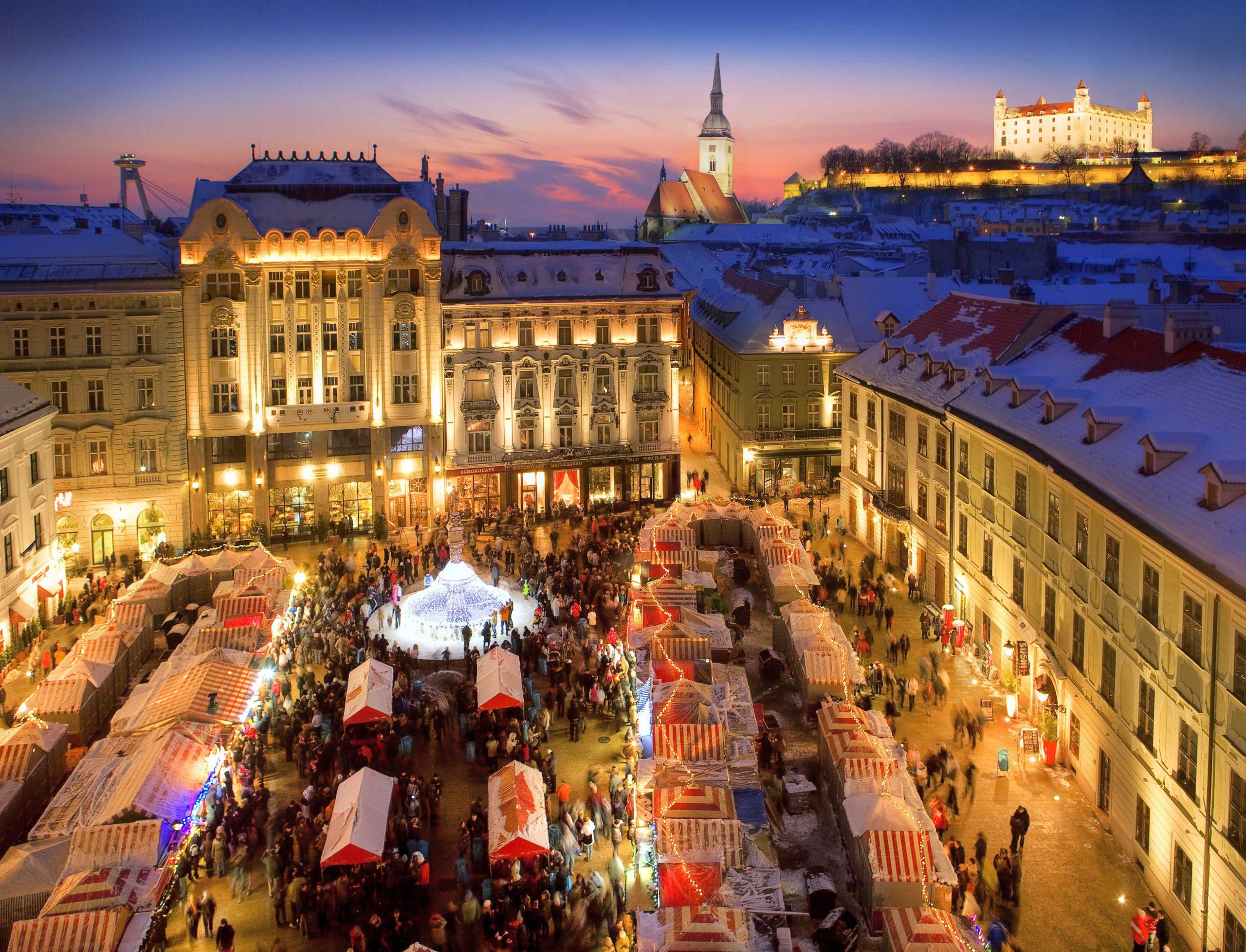Weihnachtsmarkt in Bratislava