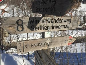 Winterwanderweg Ridnaun