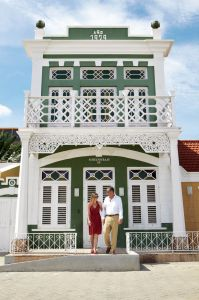 Aruba Kolonialhaus in Oranjestad