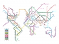 Metrobahnen der Welt